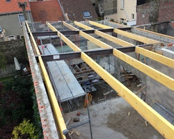 Manier construction - Oye-Plage - Charpente