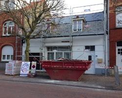 Manier construction - Oye-Plage - Les travaux de couverture