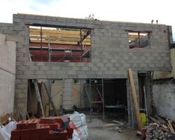 Manier construction - Oye-Plage - Les travaux de maçonnerie