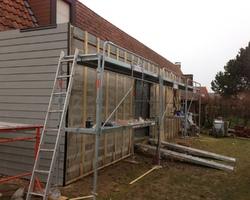 Manier construction - Oye-Plage - Les travaux d'isolation